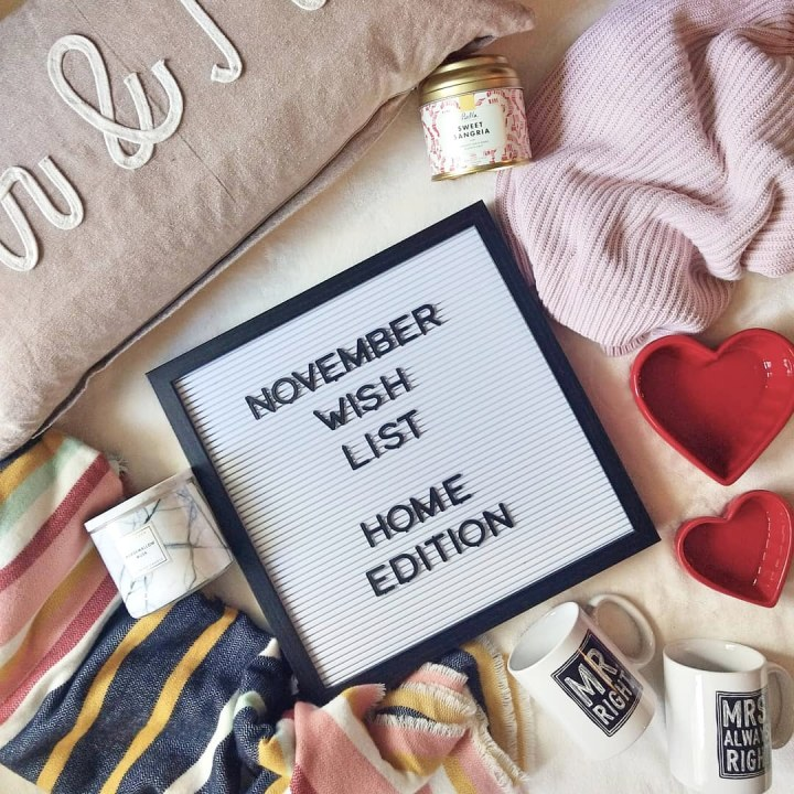 November Wish List – Home Edition
