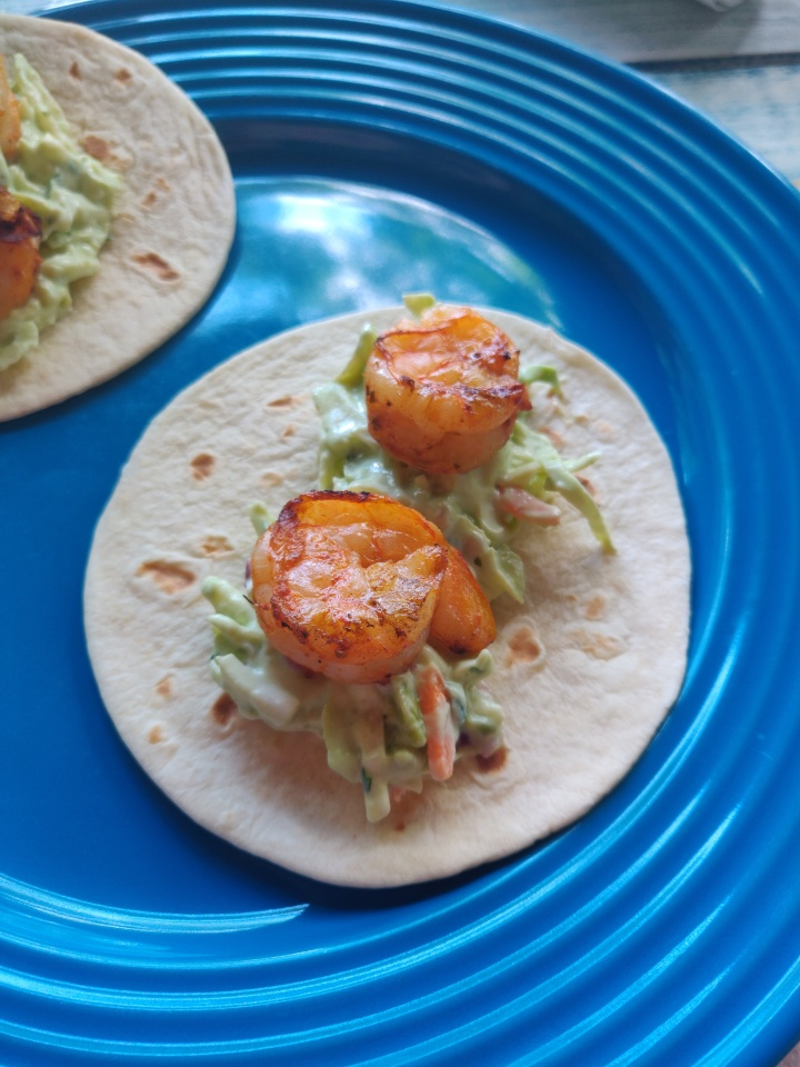 Grilled Shrimp TacosRecipe
