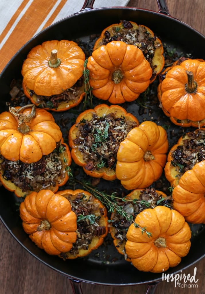Sausage-and-Rice-Stuffed-Mini-Pumpkins-715x1024